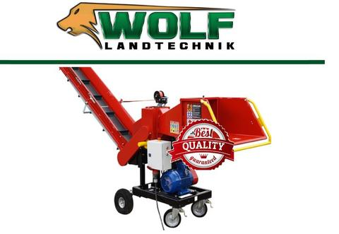 Remet CNC Wolf-Landtechnik GmbH Holzhacker RPE 120 mit Förderband 2.3m 6 Messer
