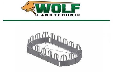 Futterraufe   Raufe 18 Fressplätze Vieh und Pfer