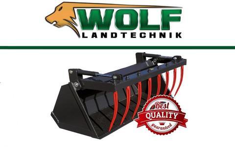 Wolf-Landtechnik GmbH Krokodilschaufel CLASSIC Hoflader /Minilader