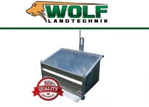 Wolf-Landtechnik  GmbH Heckcontainer Transportbox VERZINKT 1,0m HCS10