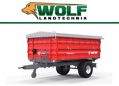 Metal-fach Einachs Dreiseitenkipper T 703   3,8 Tonnen   TO