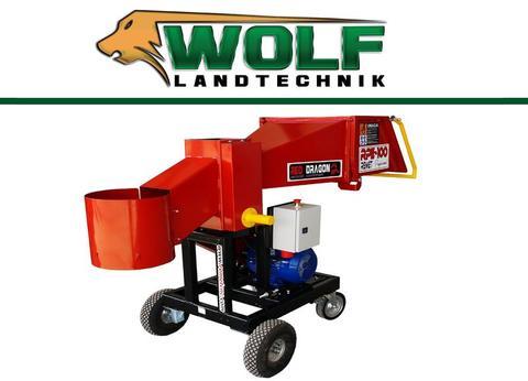 Remet CNC Wolf-Landtechnik GmbH Holzhacker RPE 100 4 Messer
