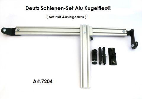 Sonstige Alu Schienen-Set Kugelflex® für Deutz-Kabinen