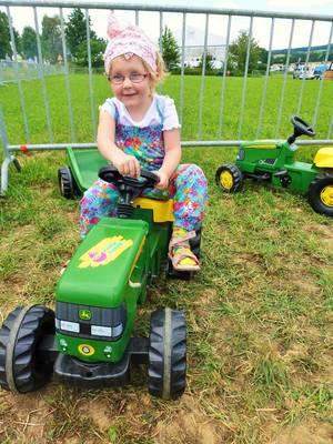Traktor Führerschein für die Kleinen