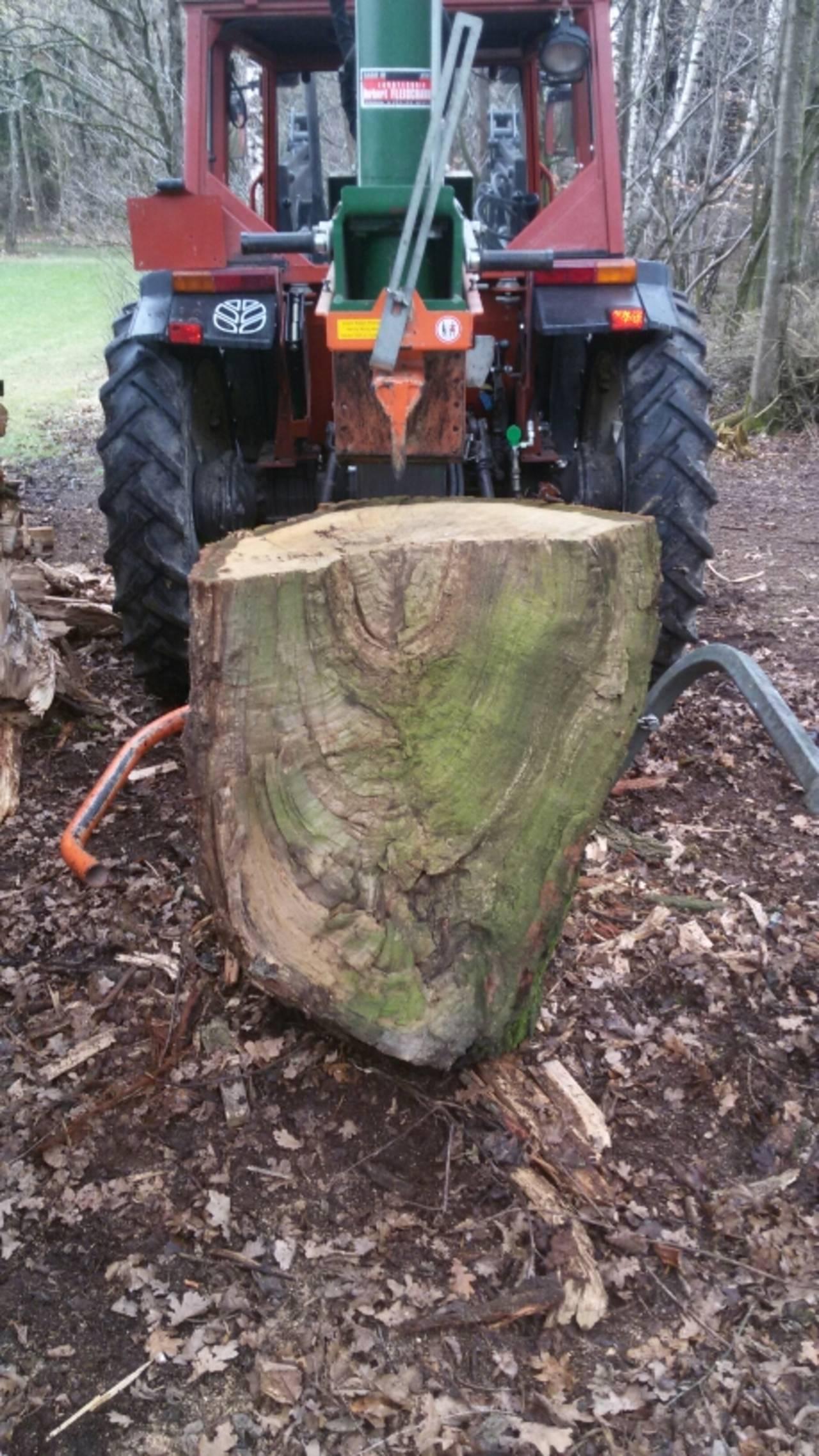 brennholz machen - wir suchen das beste landtechnik-foto