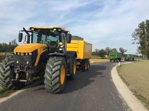 Maisabfuhr mit Fastrac 4000