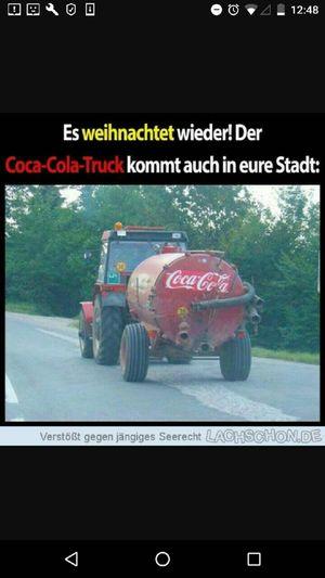 Cola im fass