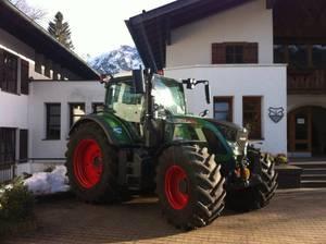 Aktionsschlepper der Bayerischen Jungbauernschaft fürs Land