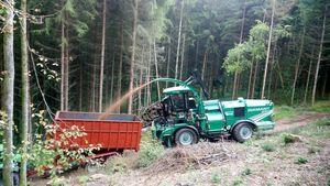 Holz hacken mit nem Albach