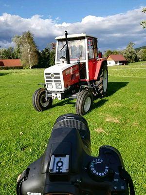 Foto-Shooting  mit Steyr
