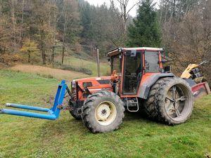 Mulcharbeiten in der Weide