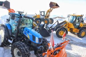 Unsere Maschinen für den Winterdienst