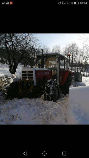 Steyr 8070 am Limit