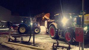 Schneeabtransport