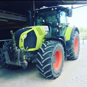 Claas Arion 640 cebis on board und Claas GPS Pilot