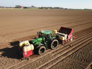 Kartoffeln legen 2020