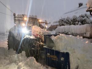 Landtechnik im Winter