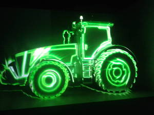 Green John Deere