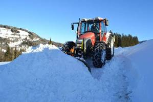 Ganz normaler Winter im Salzburger-Land