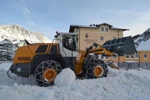 Schneeräumung in Obertauern
