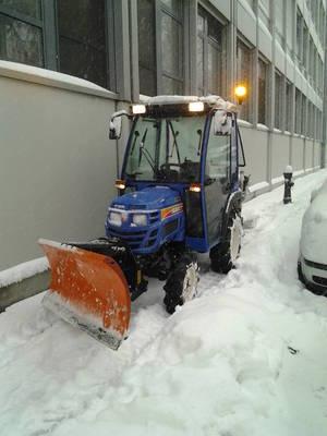 Iseki im Schnee