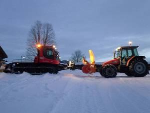 Hilfe von der Straße im Skigebiet ;)