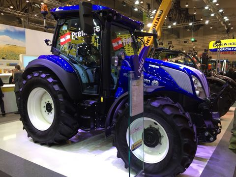 New Holland T5.140 AUTOCOMMAND TMR