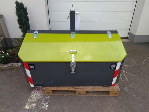 FarmService Forstbox Transportbox 1200 inkl. LED, 5mm Blech