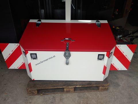 FarmService Forstbox Transportbox 1200 inkl. LED, Warntafeln