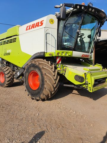 Claas Lexion 670 (Stage IV)
